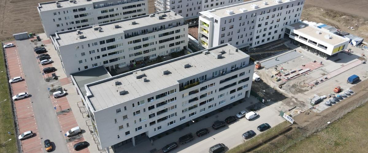 Vo zvolenskom projekte Rezidencia Hron skolaudovali druhú etapu s 83 bytmi